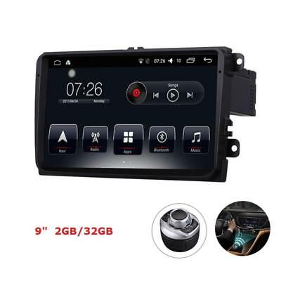 """D-NOBLE VW 9"""" Car Stereo Radio GPS Navigation 2GB/32GB Android 6.0 Bluetooth..."""