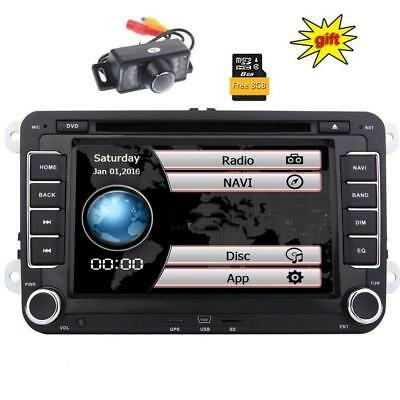 Double Din GPS Car Stereo 7inch Digital Touchscreen Wince System DVD Player...