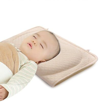 Baby Pillow for Newborn Prevent Flat Head Syndrome, Baby Memory Foam Pillow for
