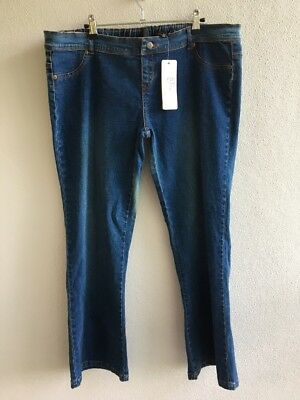 Belly Basics BNWT Maternity Jeans Size XL Under Belly Bootcut Jean Vintage Wash