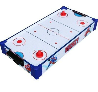 Hunter Sports 32 Inch 2-in-1 Air Hockey Table Battery Operated Plug in Goals