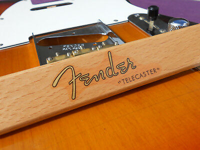 Fender Telecaster Decal 1952 Vintage Style (Metallic Gold Logo)