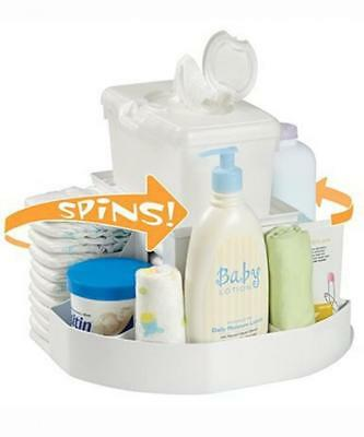 Dexbaby 'The Spin' Diaper Changing Station / Baby Nappy Stacker Organiser