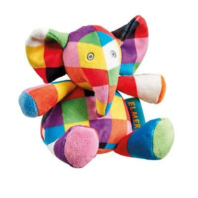 Elmer the Elephant Baby Rattle