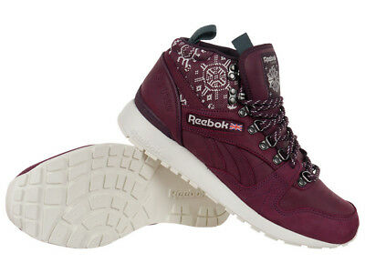 low priced 082ff ade95 Reebok Classic GL 6000 Mid SG High Top Sneakers Winter Mens Shoes