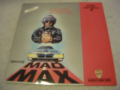 Laser Disc.video.mad Max.mel Gibson.1980.warner Bross