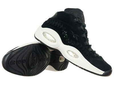 REEBOK QUESTION MID Allen Iverson 12 11 13 The Answer black IV 4 5 ... 3cd544375