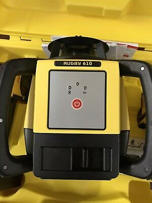 Laser Level ( Leica Rugby 610 , Topcon , c/w X2 Receivers / NEW )