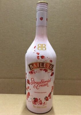 1 Sealed New Baileys Strawberries And Cream LIMITED EDITON SOLD OUT! Strawberry