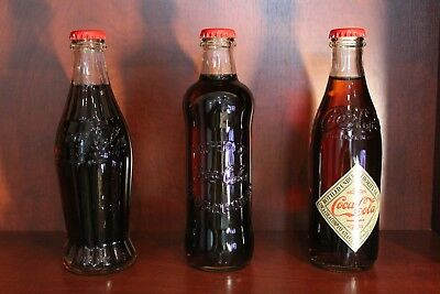 Coca Cola bottles Limited Edition Collectibles