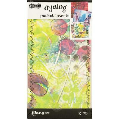 Dylusions Dyalog Pockets - 3 Pack