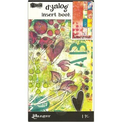 Dylusions Dyalog Insert Book - Backgrounds - NEW