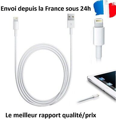 CABLE USB RENFORCE CHARGEUR RECHARGE SYNC IPhone 5S