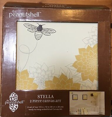 Peanut Shell Stella 2 Piece Canvas Art (*Sold Out Everywhere!*)