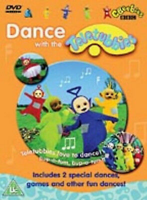 DANCE WITH THE TELETUBBIES DVD Jessica Smith Rolf Saxon UK Release New Sealed R2
