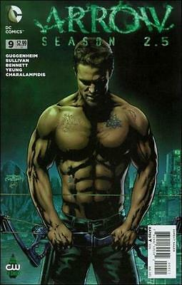 Arrow Season 2.5 #9 CW TV Show DC Comics 2015