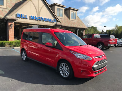 2014 Ford Transit Connect LIMITED 2014 FORD TRANSIT CONNECT (HANDICAPPED EQUIPPED) VAN
