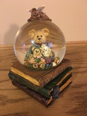 Boyds Bears & Friends The Bearstone Collection Music Snow Globe -New-