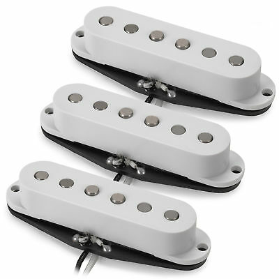 Golden Age Alnico 5 Single-coil Pickup Set of 3 - Overwound Bridge, Middle, Neck