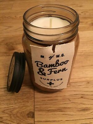 M Of Wg Makers Wax Goods Bamboo Fern Scented Candle 357g