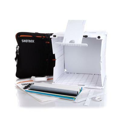ShotBox Collapsible Photo Studio with Accessories Brand New In Box