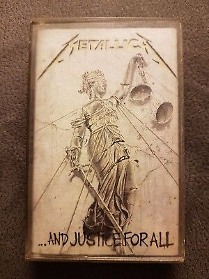Metallica ...AND JUSTICE FOR ALL  original Musikkassette