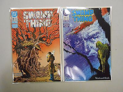 Swamp Thing #70 and 71! (1988, DC)! VF/NM9.0! Copper age DC comic lot of 2!