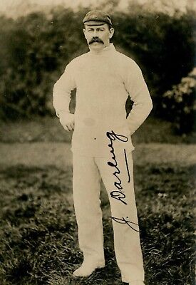 Collectors/Photograph/Photo/Print/Cricket/Australia/Captain/Joe Darling/1900