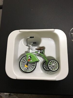 1934 Mickey Mouse Velocipede Hallmark Sidewalk Cruisers Kiddie Car Collection