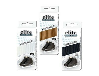 Elite Figure Skating Laces - Black - 110""