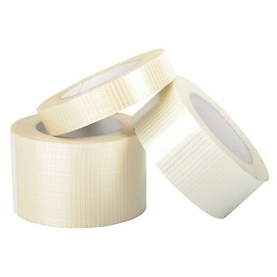 Crossweave Tape Strong Reinforced Glass Filament 12/25/38/50mm x 50m
