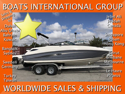2016 SEA RAY 220 - ALWAYS DRY-STORED ONLY 33 HOURS We ship worldwide