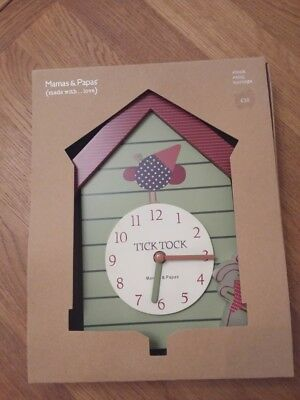 Baby clock MAMAS & PAPAS  NEW