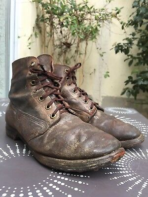 Brodequins Us M1917 Trench Boots, Wwi