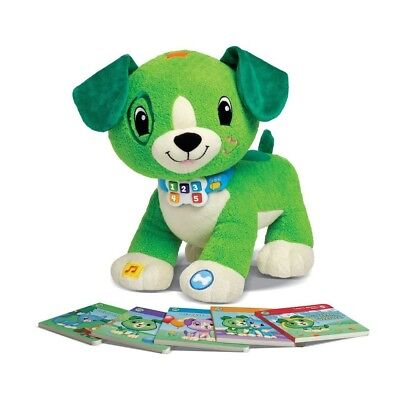 LeapFrog Read with Me, Scout Interactive Soft Toy (in Englischer Sprache)