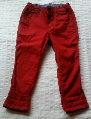 H & M H&m Boys Size 2 Pants Red
