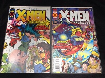 X-Men Chronicles # 1 & # 2  Marvel Comics 1995 VF/NM Age of Apocalypse Wolverine