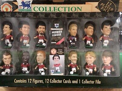 Manchester United Collection 12 Player pack By Corinthian