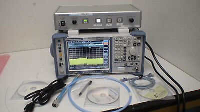 Rohde & Schwarz FSV13 10 Hz to 13.6 GHz Signal and Spectrum Analyzer w/option: