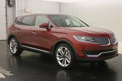 "2017 Lincoln MKX RESERVE 3.7 V6 REVEL AUDIO 21"" WHEELS  NAV SUNROOF MSRP $52743 REVEL AUDIO SYSTEM EMBEDDED MODEM SMARTPHONE TECH BLIS WITH CROSS TRAFFIC ALERT"