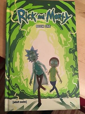Rick and Morty Deluxe Book 1 Hardcover HC (Volume 1 & 2)