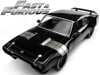 Fast & Furious - Dom's Plymouth GTX 1:24 Scale Diecast Model Car