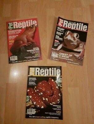 Pet Reptile X 3 January/ February / March 2001