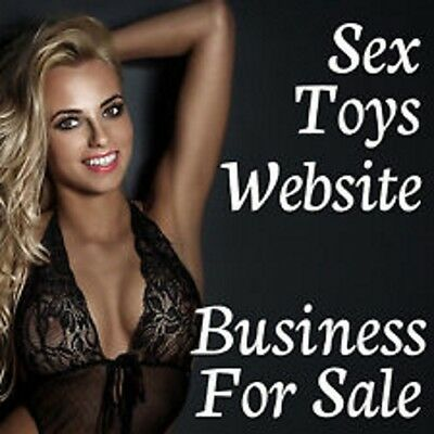 [REDUCED] Premium Adult Toy Business And Website