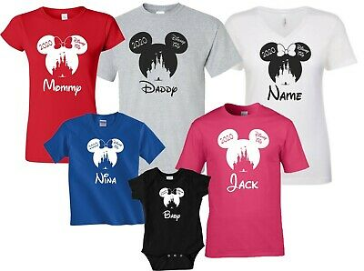 Disney castle 2019 DISNEY VACATION FAMILY  T-SHIRTS ALL SIZES MINNIE,MICKEY
