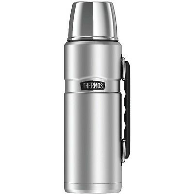 Thermos SK2010STTRI4 Stainless King Vacuum-Insulated Beverage Bottle, 40 oz, ...