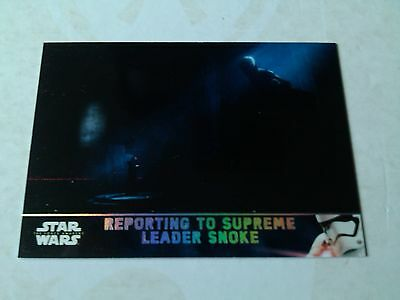 Topps Star Wars The Force Awakens Series 2 Holofoil Parallel Card # 75
