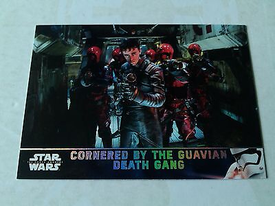 Topps Star Wars The Force Awakens Series 2 Holofoil Parallel Card # 43