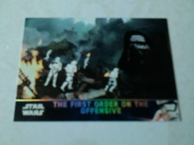 Topps Star Wars The Force Awakens Series 2 Holofoil Parallel Card # 62