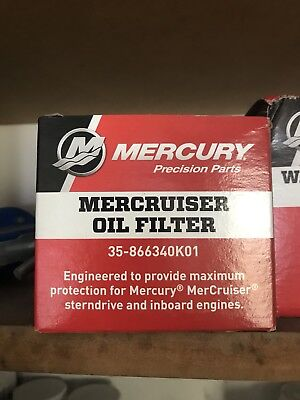 Mercury/Quicksilver Oil Filter 35-866340K01